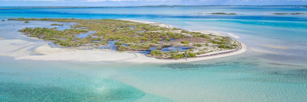 Bell Sound and Plandon Cay Cut in the Turks and Caicos