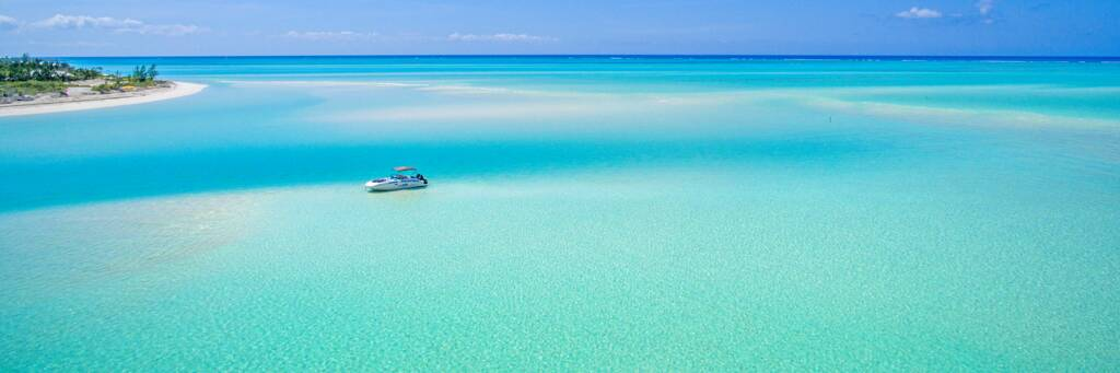Sandy Point Beach in the Turks and Caicos