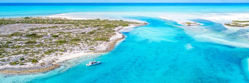 Private boat charter in the Turks and Caicos Islands