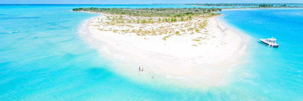 Fort George Cay in the Turks and Caicos