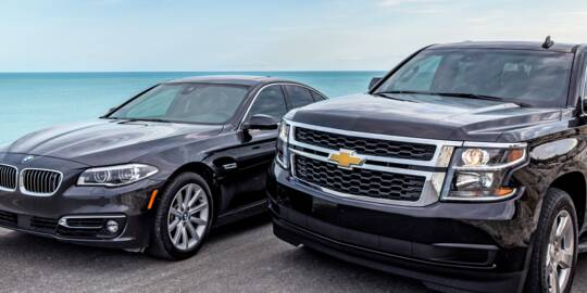 Turks and Caicos private car service