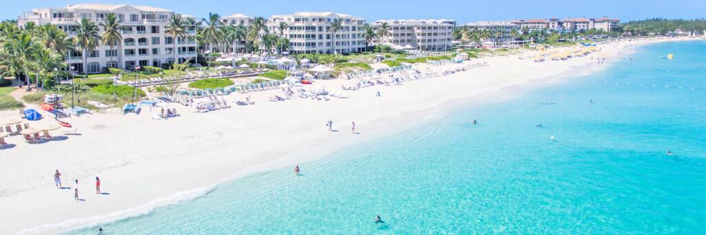 Regent Palms resort in the Turks and Caicos