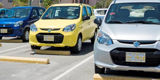 economy rental cars near the Providenciales International Airport