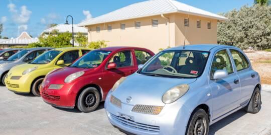 compact rental cars at Grand Turk