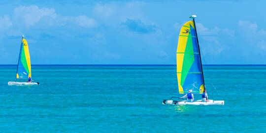 sailboat rentals in the Turks and Caicos