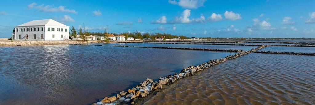 the Salt Cay salinas and the Harriott White House