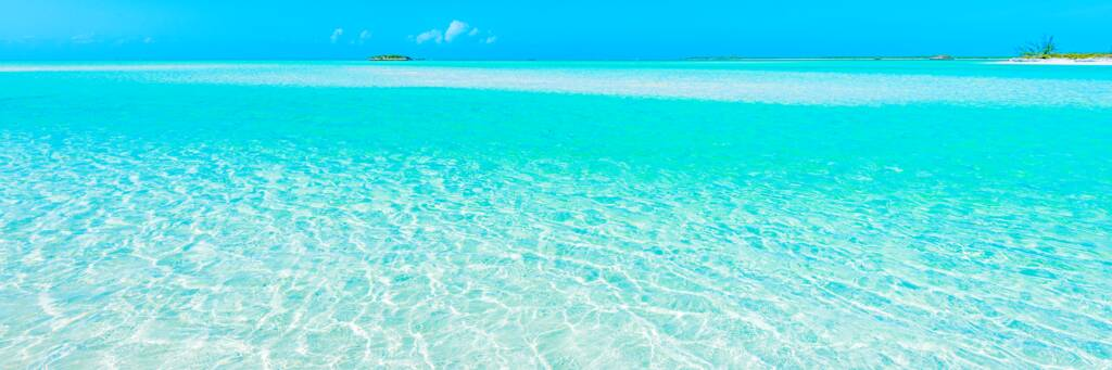 secluded islands in the Caicos Cays