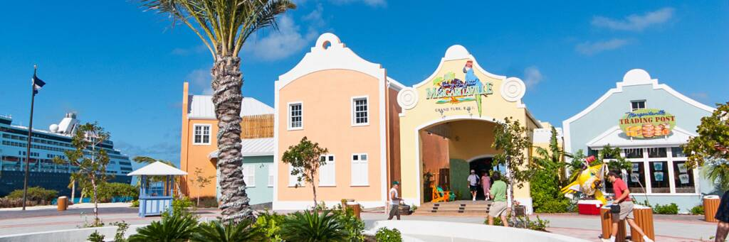 shops and the Margaritaville at the Grand Turk Cruise Center