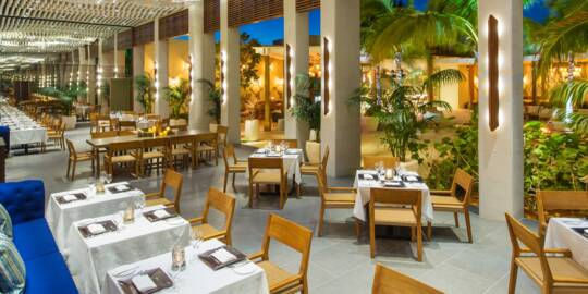 SUI-REN restaurant in the Turks and Caicos