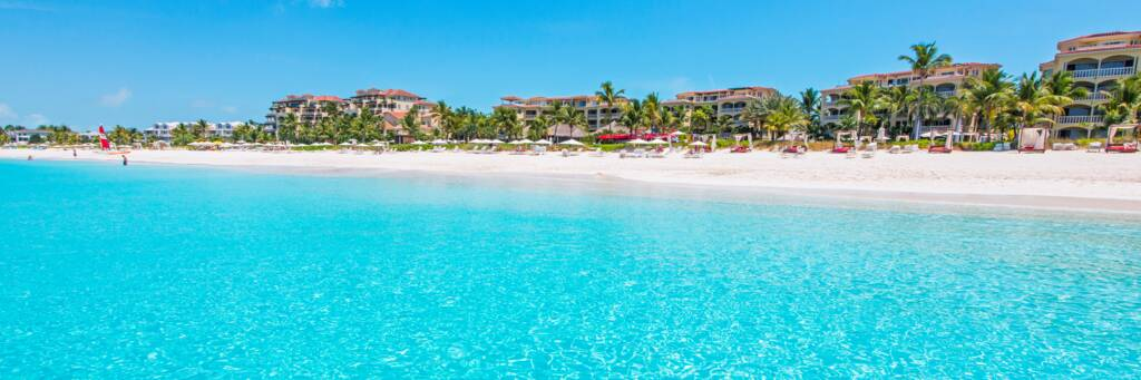 the Grace Bay Club resort on the beautiful island of Providenciales