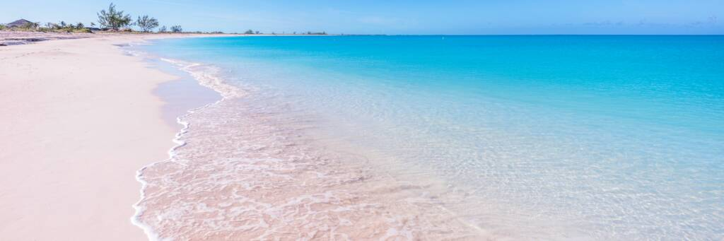 beach at the Meridian Club at Pine Cay in the Turks and Caicos.