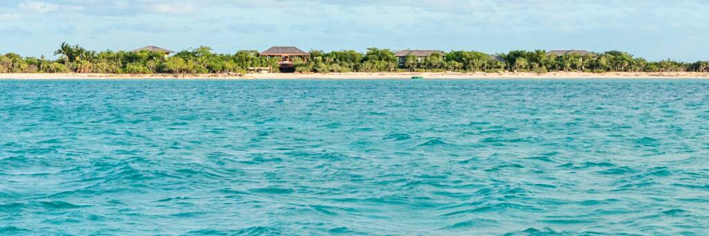 The Sanctuary Estate, located on Parrot Cay in the Turks and Caicos