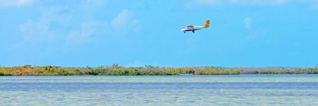 Twin Otter aircraft in Turks and Caicos