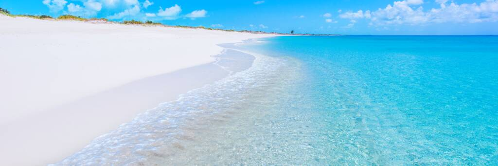 the spectacular beach at Water Cay