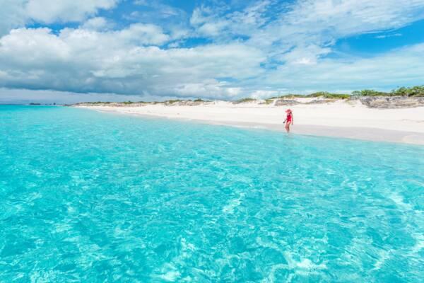Water Cay beach