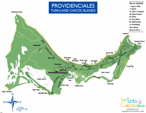 map of Providenciales
