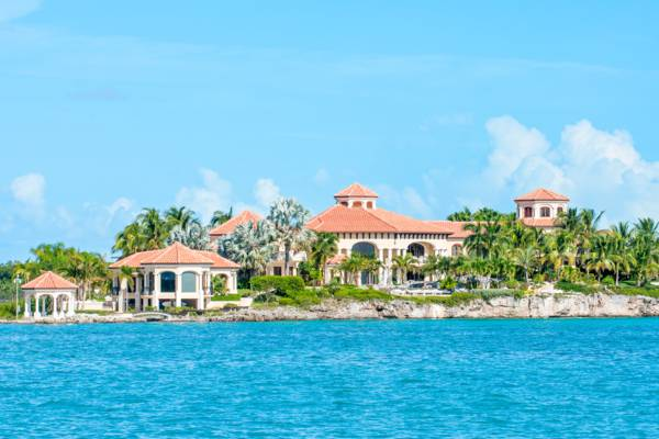 the luxurious Emerald Cay Villa in Silly Creek on Providenciales