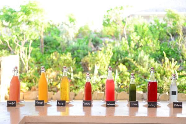 fresh juice at Sailrock Resort