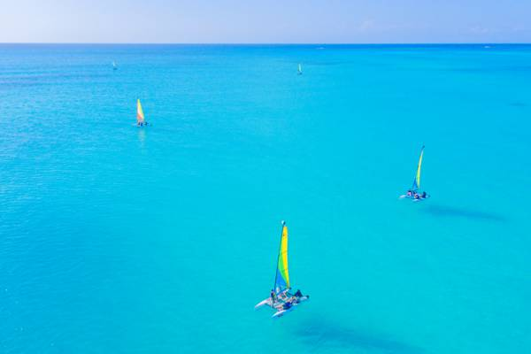Hobie Cat sailboats in Turks and Caicos