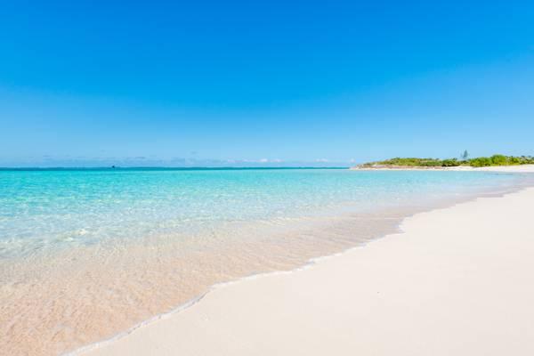 the beautiful  Hollywood Beach on North Caicos