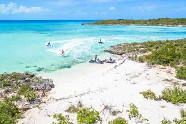 jet ski tour in Turks and Caicos