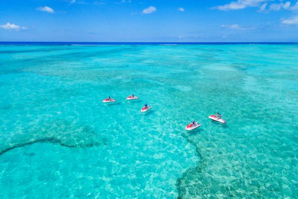 jet ski tour in the Turks and Caicos