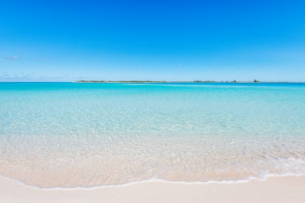perfect beach and ocean at Leeward Beach on Providenciales
