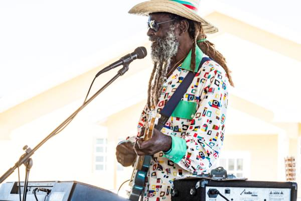 Turks and Caicos musician Lovey Forbes