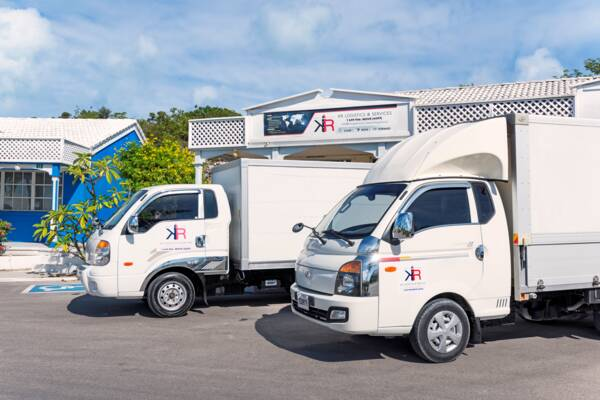 moving vans and trucks in the Turks and Caicos
