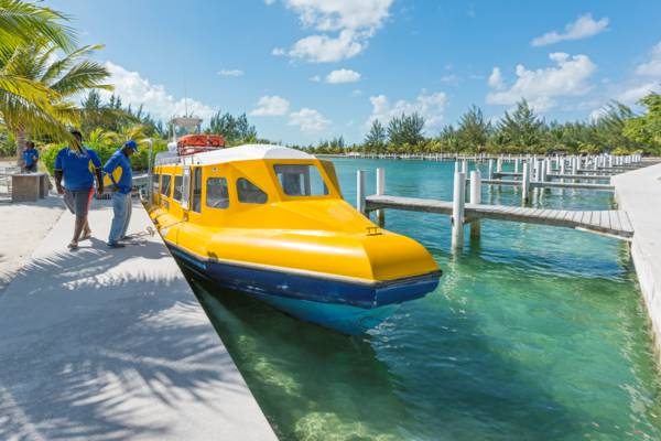 north caicos ferry at Sandy Point Marina