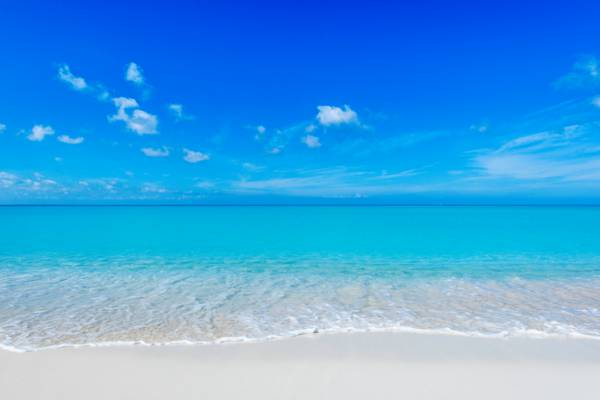 Grace Bay Beach in the Turks and Caicos