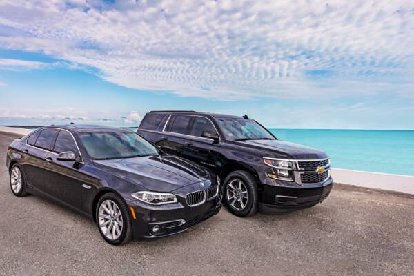 private transport service car and SUV on Providenciales, Turks and Caicos