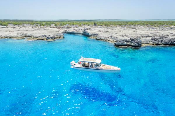 private charter at West Caicos in the Turks and Caicos