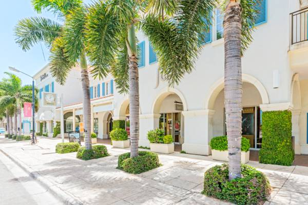 shops at the Regent Village plaza in Grace Bay on Providenciales