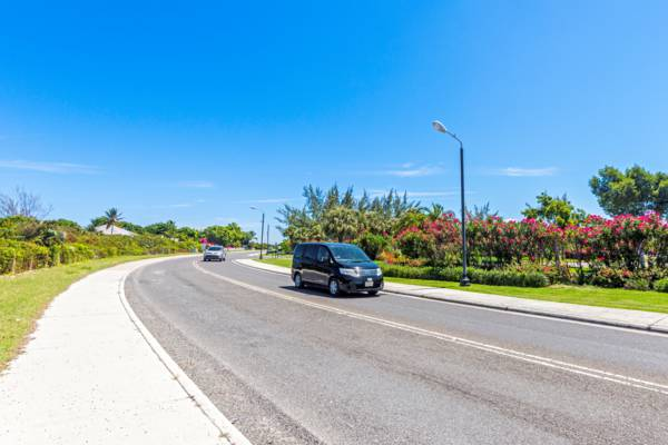 Turks and Caicos rental car on Grace Bay Road