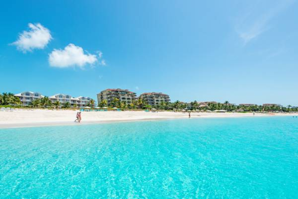 luxury resorts on Grace Bay Beach in the Turks and Caicos