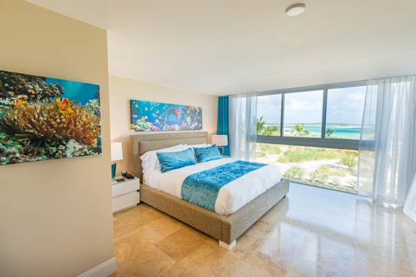 a luxury room at the East Bay Resort on South Caicos