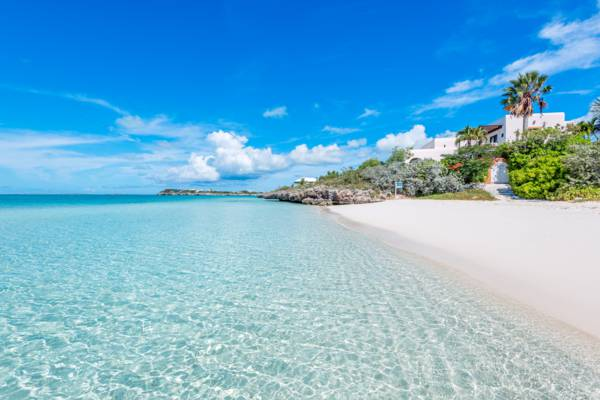 the incredible beach at Sapodilla Bay in the Turks and Caicos