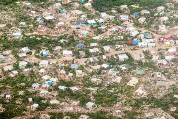 slum in Turks and Caicos