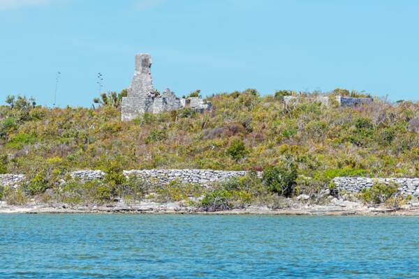 ruined plantation in the Turks and Caicos