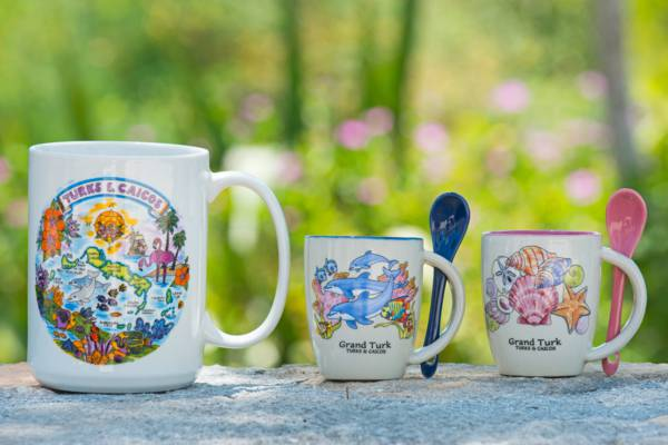 Turks and Caicos souvenir mugs