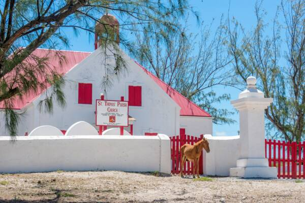 St, Thomas Church on Grand Turk in the Turks and Caicos