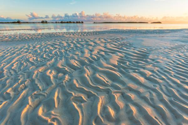 sunrise at Middle Caicos, Turks and Caicos