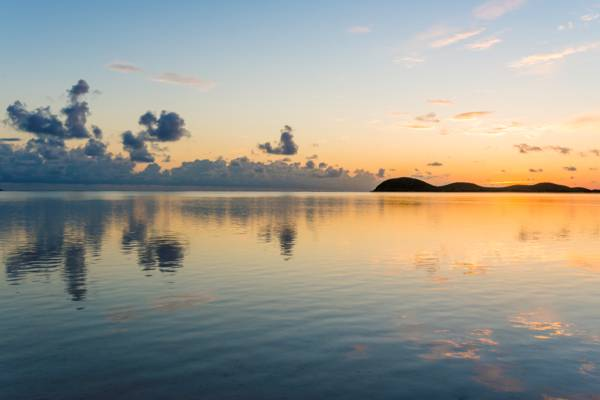 sunrise in the Turks and Caicos