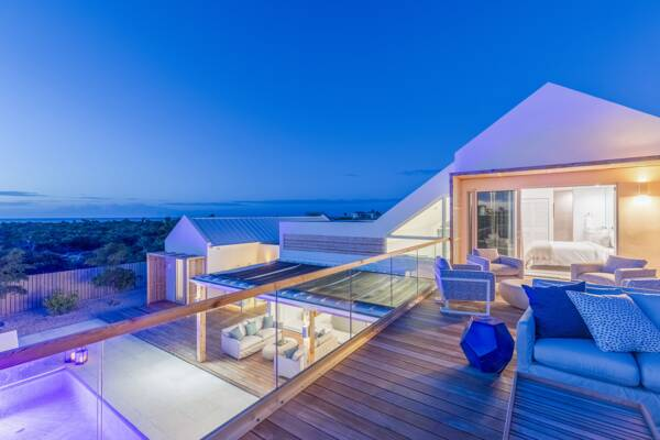Sunset Beach Villas in the Turks and Caicos.