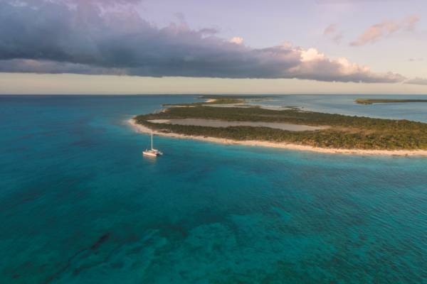 Turks and Caicos sunset charter