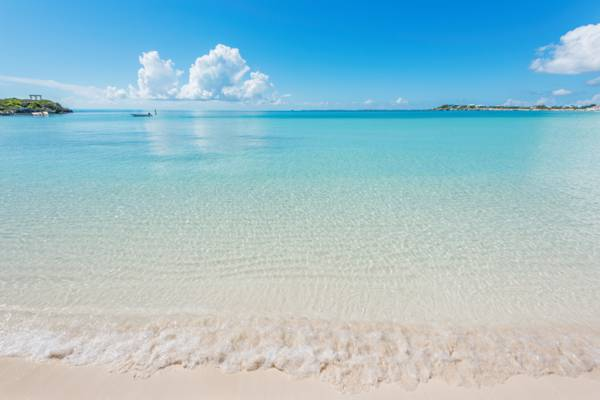great weather at Sapodilla Bay Beach in the Turks and Caicos