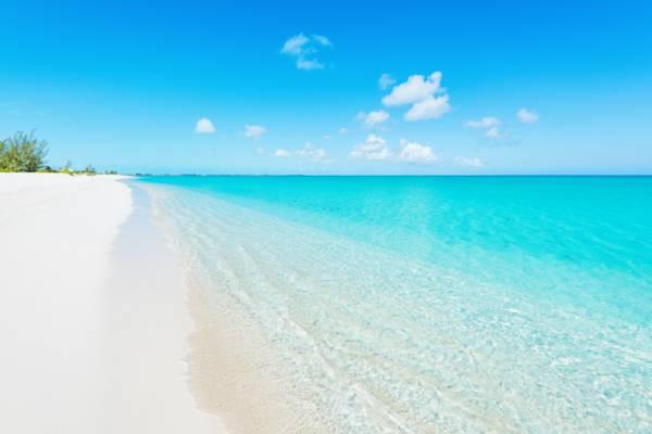Leeward Beach in the Turks and Caicos