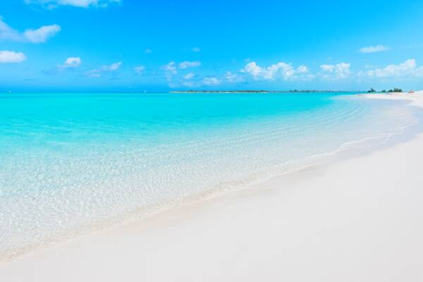 Leeward Beach in Turks and Caicos