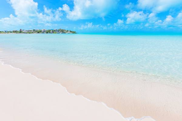 calm water at Taylor Bay Beach in the Turks and Caicos